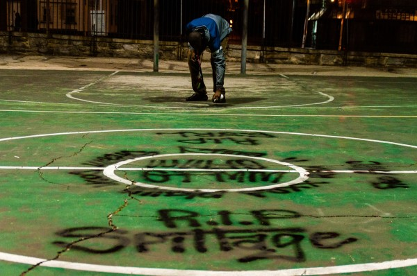 Photographed November 2 2013 at Happy Hollow Rec Center in Germantown; Philadelphia PA